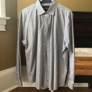 Johnston&Murphy Men's Large Dress Shirt